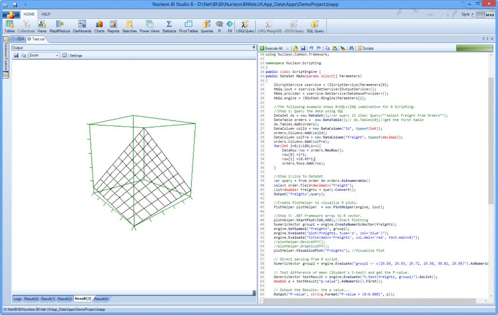 New BigData Platform | Nucleon Software